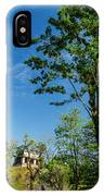 Tall Tree And Temple IPhone Case