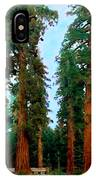 Tall Trees In Yosemite National Park IPhone Case