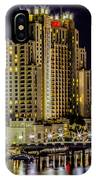 Tampa Marriott Waterside Hotel And Marina IPhone Case