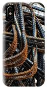 Tangled - Industrial Photography By Sharon Cummings IPhone Case