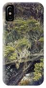 Tangled Neighbors Of The Lone Cypress IPhone Case