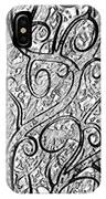 Tangled Up In Vines IPhone Case