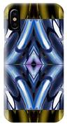 Tango In Blue And Gold IPhone Case