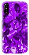 Tango In Purple IPhone Case