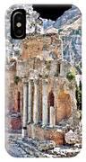 Taormina Amphitheater IPhone Case