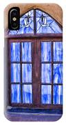 Taos Pueblo Church Window IPhone Case