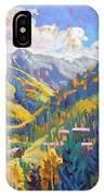 Taos Ski Area IPhone Case