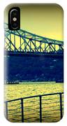 Tappan Zee Bridge II IPhone Case