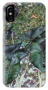 Taro Garden IPhone Case