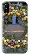 Tarpley Thompson Store Wreath IPhone Case