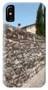Tarquinia Muro Di Cinta Con Cipressi IPhone Case