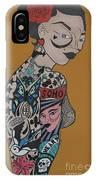 Tattoo Chic Rust IPhone Case