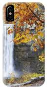 Taughannock Falls And Maple IPhone Case