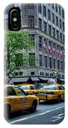 Taxicabs Of New York City IPhone Case