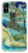 Te Arii Vahine .the Queen Of Beauty Or The Noble Queen. IPhone Case