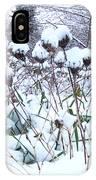 Tea Cups Of Snow IPhone Case