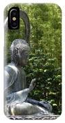 Tea Garden Buddha IPhone Case