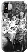 Tea Party, C1902 IPhone Case