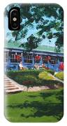 Tea Rooms At The Peoples Park IPhone Case