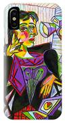 Technology And Picasso IPhone Case