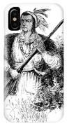 Tecumseh, Shawnee Indian Leader IPhone Case