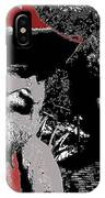 Ted  Degrazia  Singer Sammi Smith  Dick Frontain Photo Gallery In The Sun Tucson Arizona C.1977-2013 IPhone Case