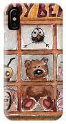 Teddy Bear Shop IPhone Case