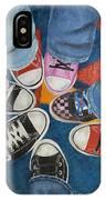 Teens In Converse Tennies IPhone Case