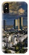 Tel Aviv Skyline Fascination IPhone Case