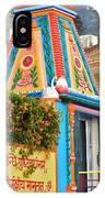 Colorful Temple - Rishikesh India IPhone Case