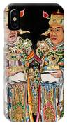 Temple Doors 01 IPhone Case
