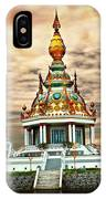 Temple Island. IPhone Case