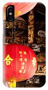 Temple Lanterns 01 IPhone Case
