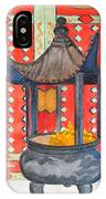 Temple Offerings IPhone Case