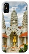 Temple Towers IPhone Case