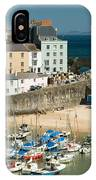 Tenby Harbour IPhone Case