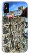 Tenby Lobster Traps IPhone Case