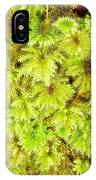 Tender Fresh Green Moss Background Texture Pattern IPhone Case