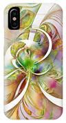 Tendrils 06 IPhone Case