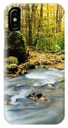 Tennessee Stream In Fall IPhone X Case