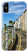 Terraced Cottages At Mousehole IPhone Case