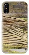 Terraces And Paddy Fields IPhone Case