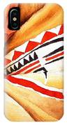Teton Dacota Indian Woman Detail IPhone Case