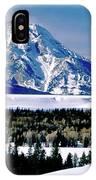 Teton Valley Winter Grand Teton National Park IPhone Case
