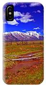 Tetons From Antelope Flats IPhone Case