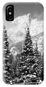 Tetons In Snow IPhone Case