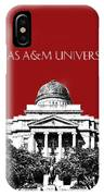 Texas A And M University - Dark Red IPhone Case