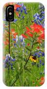 Texas Best Wildflowers IPhone Case