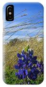Texas Bluebonnet Center Of Attention IPhone Case