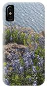 Texas Bluebonnets At Lake Travis IPhone X Case